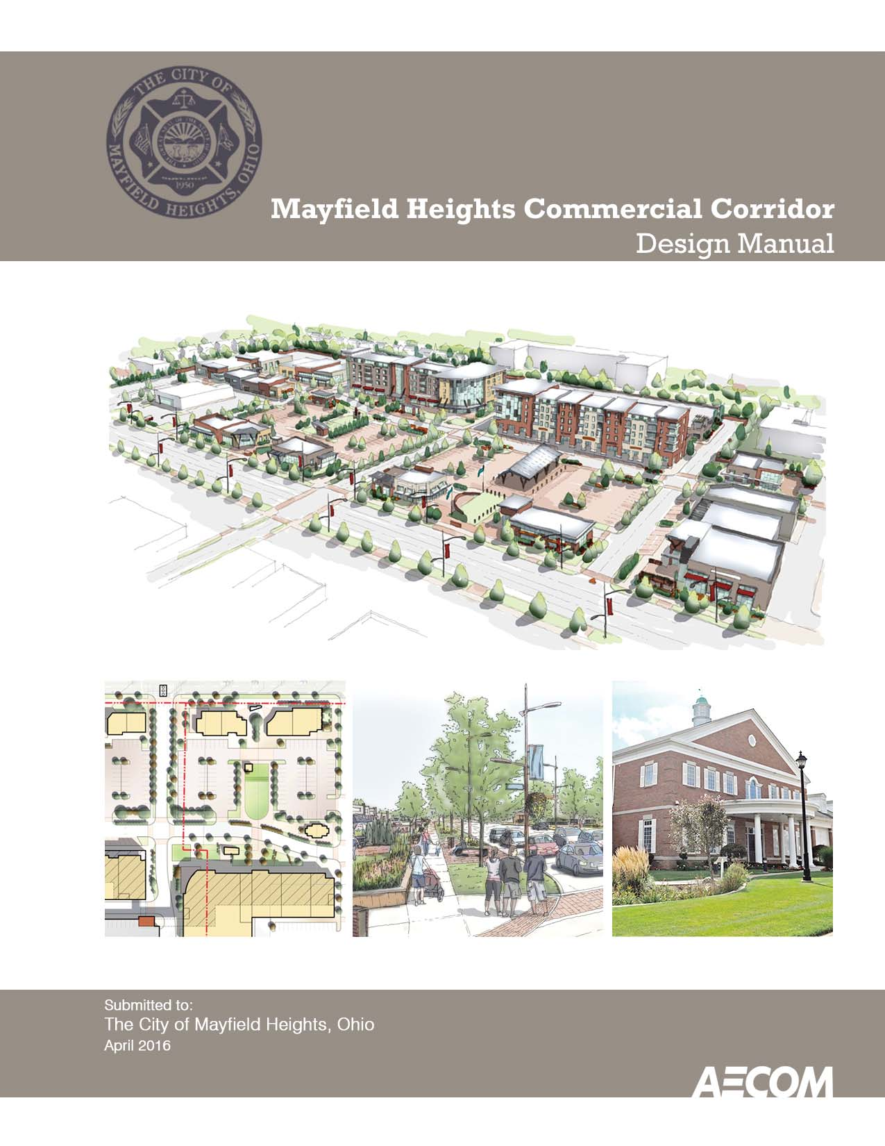 MH Commercial Corridor Design Manual - Cover Page