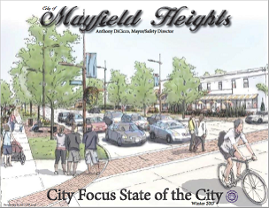 City Publication Cover featuring link to State of the City 2016